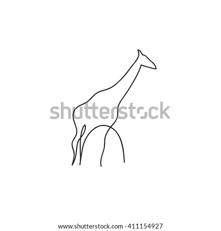 How To Draw A Jumping Giraffe