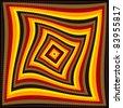 op art/pop art checkerboard pattern background - stock photo