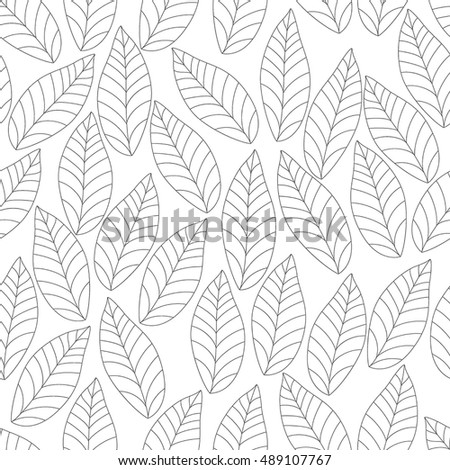 Organic seamless pattern. vector illustration.Template for packing design.