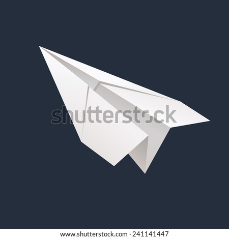 Paper Airplane Stock Illustration 292611698 - Shutterstock