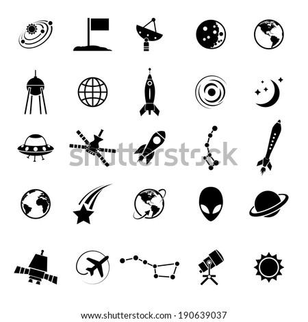 Earth Vector Icons Set On White Stock Vector 191363465 Shutterstock