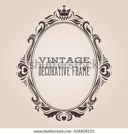 royal vintage frame stock vector 80676535 shutterstock