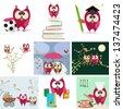 owl love story  - stock