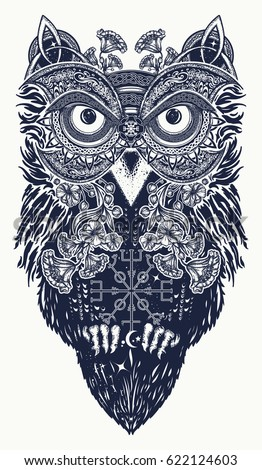 aztec owl drawings images galleries with a bite. Black Bedroom Furniture Sets. Home Design Ideas