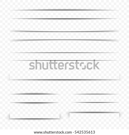 Transparent text dividers