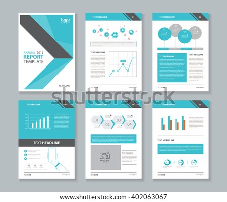 Page Layout For Company Profile ,annual Report , Brochure ,and Flyer,  Template With  Corporate Profile Template