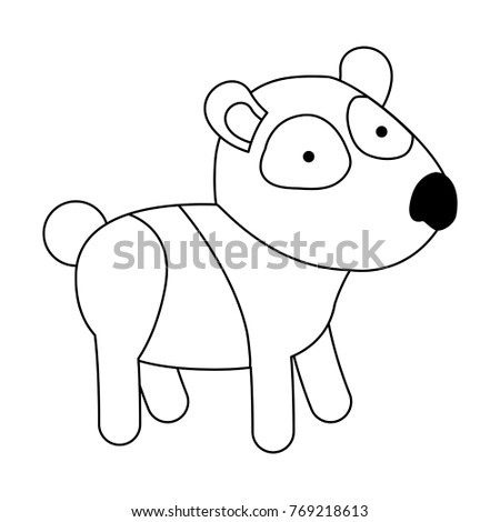 pill bug coloring page - paw print turtle coloring page vector stock vector