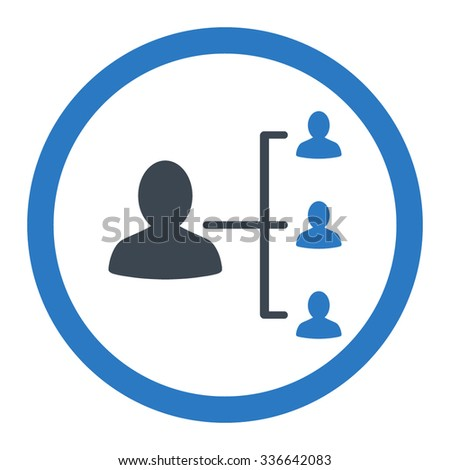 Three People Connected Network Symbol Download Stock ...