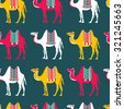 pattern with camels  ...