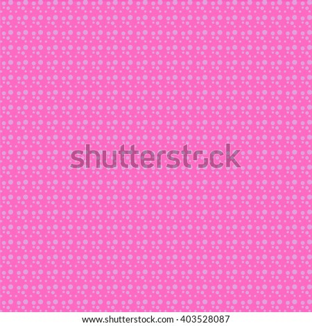 Pattern with grey circles on pink background