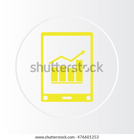 Perfectly detailed modern phone isolation vector