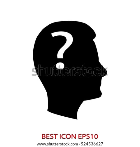 person, the user, vector icon, eps10