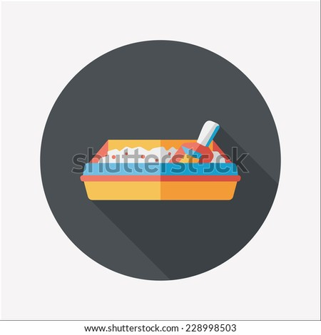 Pet cat litter box flat icon with long shadow eps10  sc 1 st  Shutterstock & Pet Cat Litter Box Flat Icon Stock Vector 228998518 - Shutterstock Aboutintivar.Com