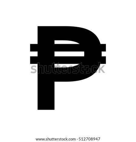 Peso Currency Stock Vector 49194595 - Shutterstock Pesos Symbol