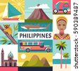 philippines travel poster....