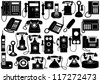 Phone set - stock photo