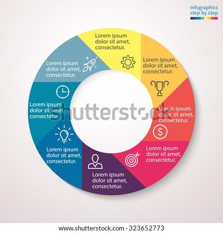 timeline infographics design template icons set stock vector 583164178 shutterstock. Black Bedroom Furniture Sets. Home Design Ideas