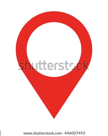 pin location  isolated icon design, vector illustration  graphic