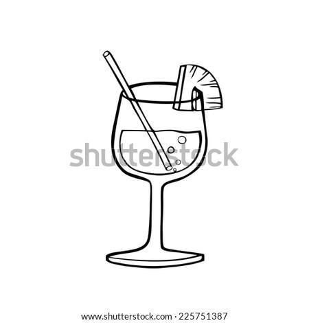 Glass Water Illustration Cartoon Clipart Vector 192422639