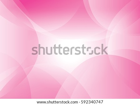 pink background of abstract curves