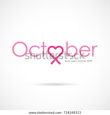 Breast Cancer Awareness Logo Designbreast Cancer Stock ...