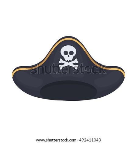 Pirate Hat Drawing Pirate Fancy Dress Hat...