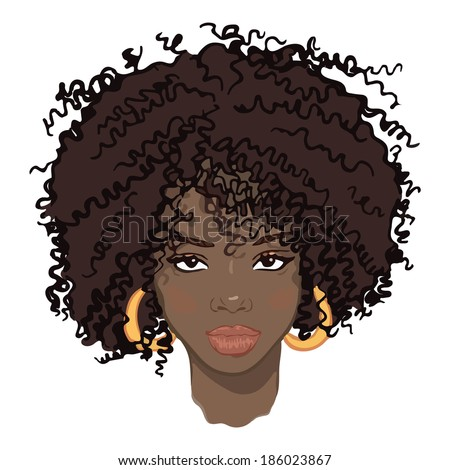 how to draw african american male hair