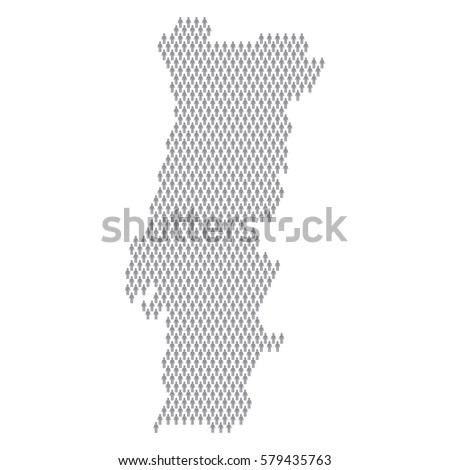 Low Poly Map Sweden Dots Lines Stock Vector Shutterstock - Portugal map icon