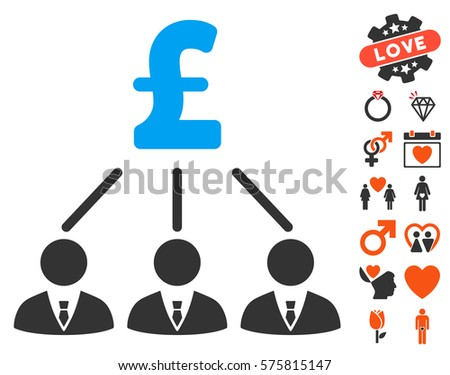 Financial Radial Scheme Icon Bonus Pictograms Stock Vector