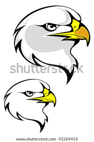 Tribal eagle tattoo - vector illustration - Eagle symbol isolated on ...