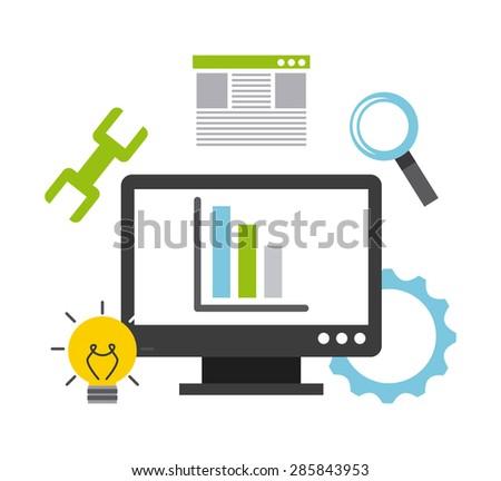 Seo Optimization Programming Process Web Analytics Stock