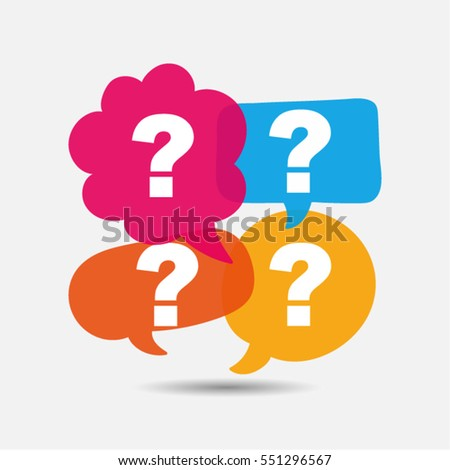 Question mark icon. Vector, illustration, eps10.