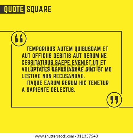 how to create square box in text