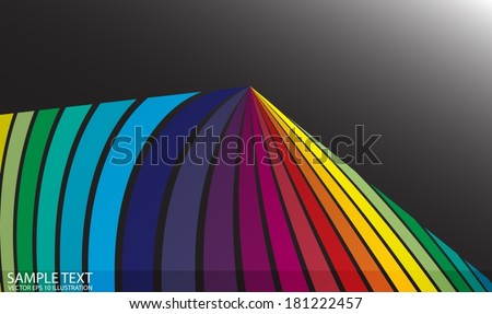 Rainbow spectrum color background  shiny illustration - Vector colorful stripes abstract background illustration