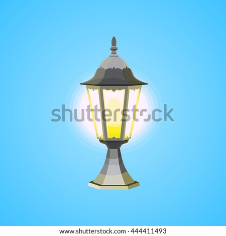Ramadan. Designer lamp which is suitable for holiday cards, website, printing products, and printing for outdoor advertising.
