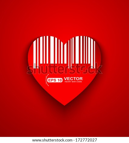Read my heart barcode