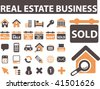 real estate business. vector - stock vector