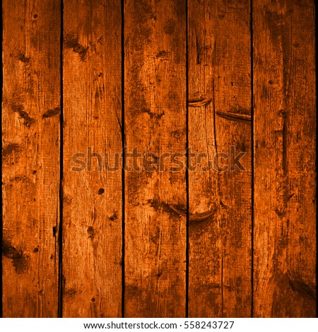 Realistic texture wood planks with natural structure. Empty brown background in square size. Vector illustration save in 10 eps