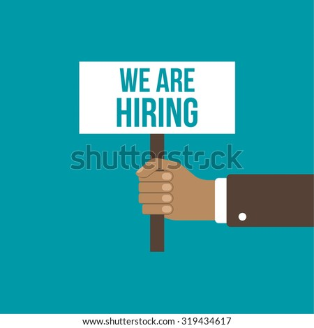 Recruitment Concept Search Better Candidate Open Stock