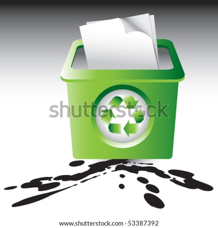 recycle bin splatter