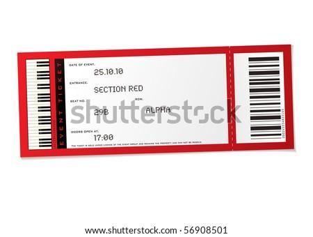 Concert Ticket Outline Blank Concert Ticket Clip Art