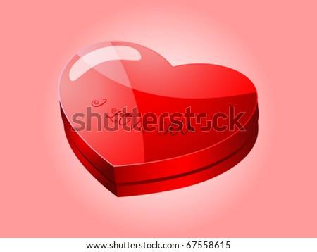 Furniture Heart Shaped Decor Ideas Valentines Stock Illustration ...