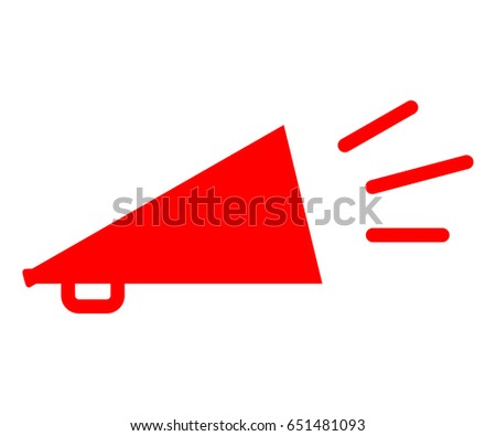 Bullhorn Stock Illustration 67468228 - Shutterstock