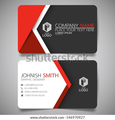 stock-vector-red-modern-creative-busines