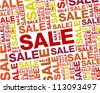 red sale backgorund.red sale backgorund concept - stock vector