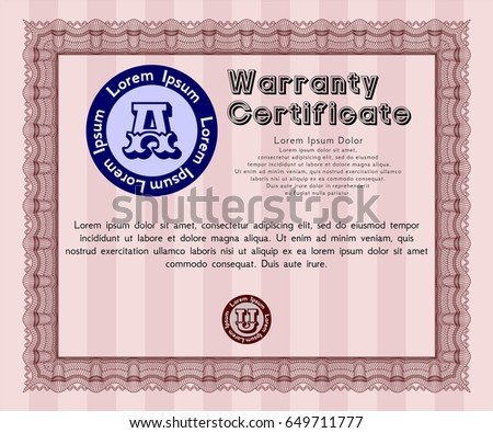 Kids Cooking Class Certificate Design Template Vector – Cooking Certificate Template