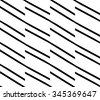 Repeatable pattern with parallel oblique straight lines. Diagonal lines pattern. - stock vector