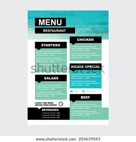 Corporate brochure flyer design layout template in a4 size with bleed - Corporate Brochure Flyer Design Layout Template Stock