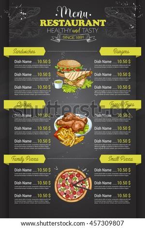 fast food name list