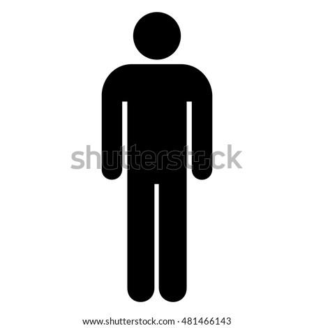 male female symbol set vector illustration stock vector 372574126